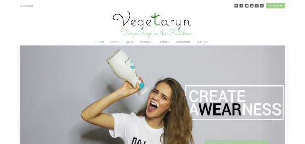 Vegetaryn Website