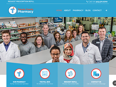 Toledo Family Pharmacy Website
