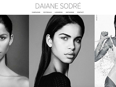 Daiane Sodre Website