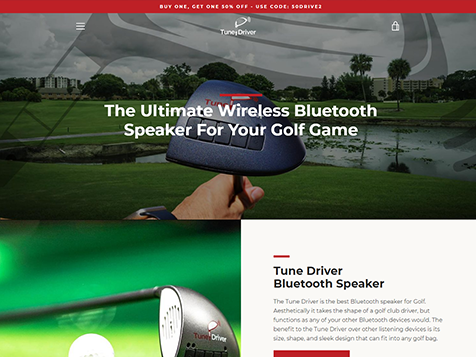 Tune Driver Website
